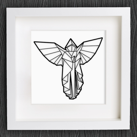 Free 3d File Customizable Origami Angel Cults