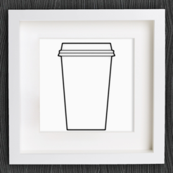 Free 3D model Customizable Origami Disposable Coffee Cup, MightyNozzle