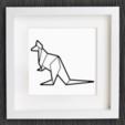 Capture d'écran 2018-01-08 à 12.19.06.png Download free STL file Customizable Origami Kangaroo • 3D print model, MightyNozzle