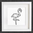 Capture d'écran 2017-11-10 à 10.01.10.png Download free STL file Customizable Origami Flamingo • 3D print object, MightyNozzle