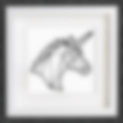 Free 3D printer file Customizable Origami Unicorn, MightyNozzle
