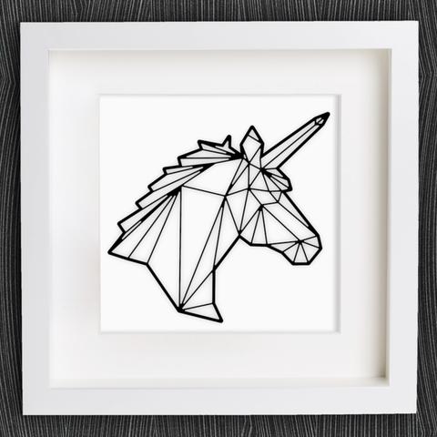 Free 3d model Customizable Origami Unicorn, MightyNozzle