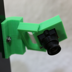 Free STL files Anet A8 Raspberry Pi Cam Holder, MightyNozzle