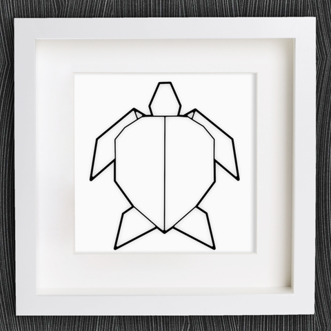 Free 3d Printer Model Customizable Origami Turtle Cults