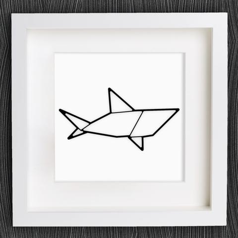 Capture d'écran 2018-01-02 à 12.15.17.png Download free STL file Customizable Origami Shark • 3D printing design, MightyNozzle