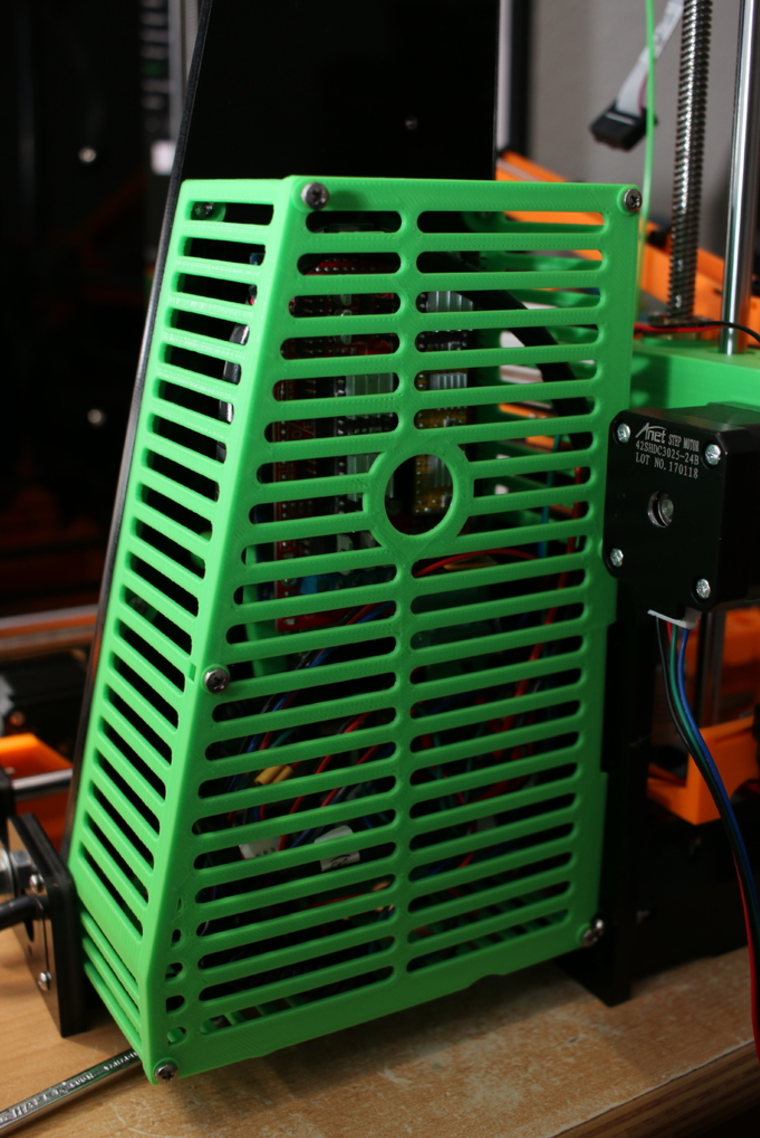 Capture d'écran 2017-08-22 à 15.12.18.png Download free STL file Modular Anet A8 RAMPS 1.4 + Raspberry Pi 2/3 Case • Design to 3D print, MightyNozzle