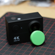 Download free STL file 21mm Lens Cap (for H9 Ultra HD 4K Action Camera) • 3D printable object, MightyNozzle