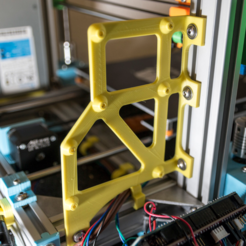 Download free 3D print files Anet AM8 RAMPS1.4 + Raspberry Pi 2 and 3 holder bracket 2020, 2040, MightyNozzle