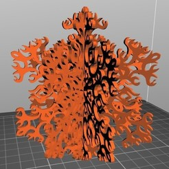 Modèle 3D gratuit Flocon de neige, wllwiser