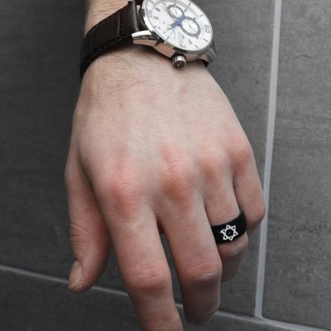 Free 3D printer designs Star Ring of David, BODY_3D