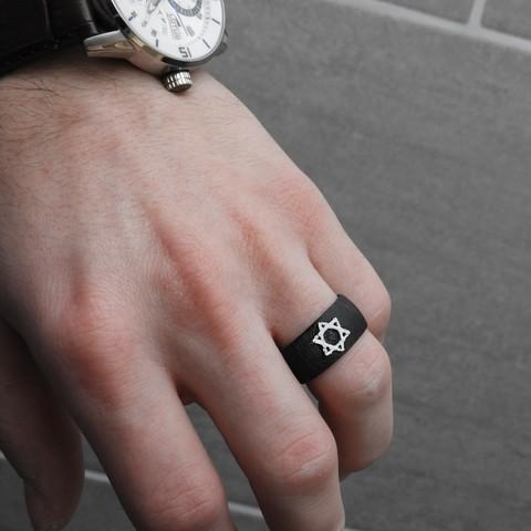 DSCN0407.JPG Download free STL file Star Ring of David • 3D printing design, BODY_3D