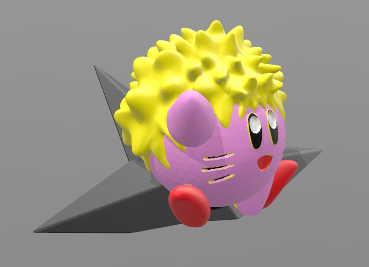 dd.PNG Download OBJ file Kirby Naruto • 3D printable object, BODY_3D