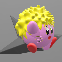 Descargar modelo 3D Kirby Naruto, BODY_3D