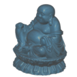 Download free 3D printing templates Buddha, Icenvain