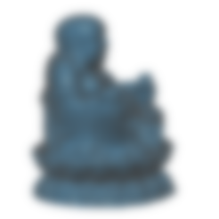 Free Buddha 3D printer file, Icenvain