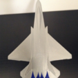 Download free 3D printer designs Z-13 stealth fighter, morrisblue
