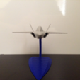Free stl Z-13 stealth fighter, morrisblue