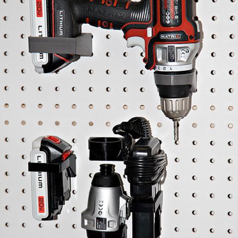 Archivos STL gratis Soporte de madera para Black & Decker Matrix Drill set, MGX