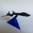 Download free STL file Starfighters with a display stand • 3D print object, morrisblue