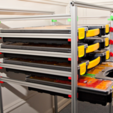 Download free STL file Extrusion shelving system • 3D printing model, MGX