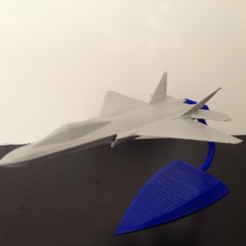 Download free STL file Z-13 stealth fighter • 3D printer model, morrisblue