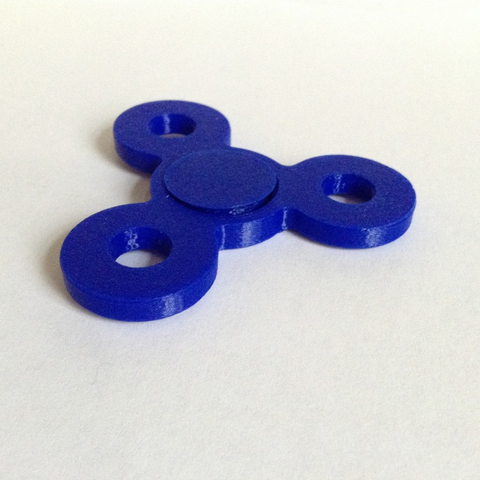 Free 3D file Bearingless Fidget Spinner, morrisblue
