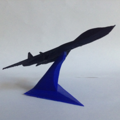 Free STL Starfighters with a display stand, morrisblue