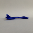 Download free STL file Starfighter 2.0 • 3D printer template, morrisblue