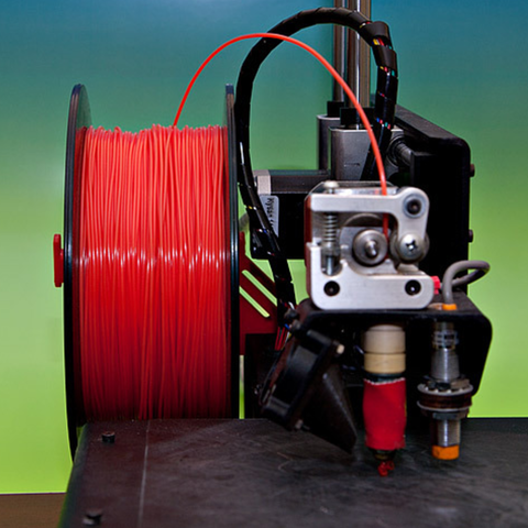 Download free STL files Simple Spool Holder for Printrbot Metal, MGX