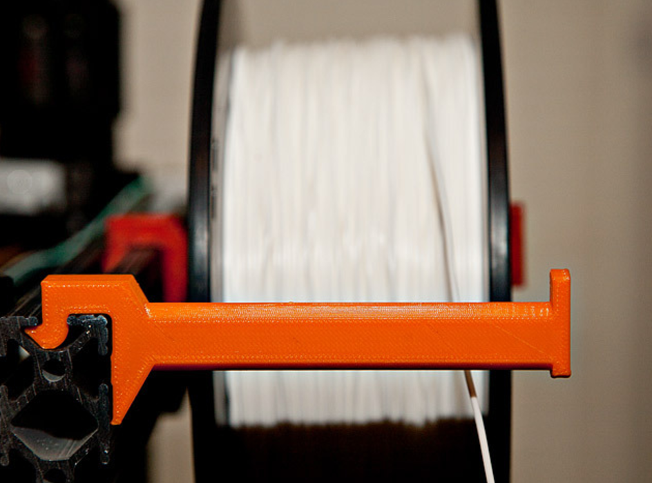 Capture d'écran 2017-08-28 à 15.07.00.png Download free STL file Snap-in Spool Holder for 8020 • 3D print template, MGX