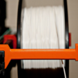 Free 3d printer model Snap-in Spool Holder for 8020, MGX