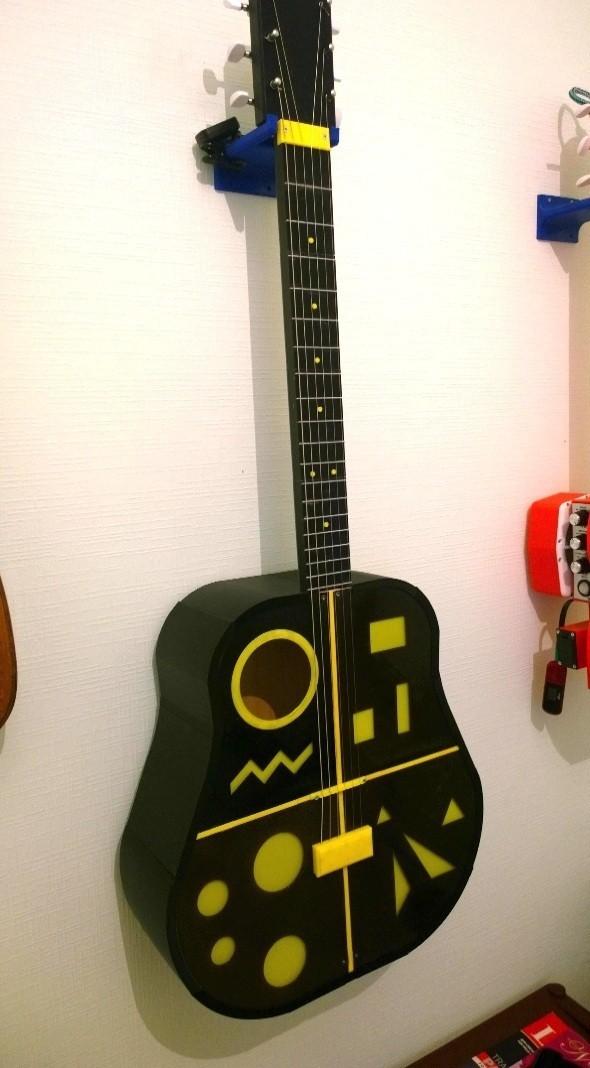 3.jpg Télécharger fichier STL gratuit Guitare acoustique • Design pour impression 3D, CrocodileGene3d