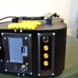 2.png Download free STL file Guitar with built in Amp and Speaker • 3D printable model, CrocodileGene3d