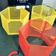 Download free STL file Hexagon fractal shelf • 3D printer model, CrocodileGene3d