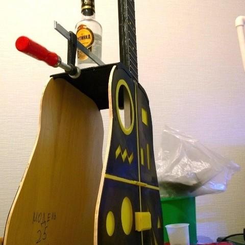 2.jpg Télécharger fichier STL gratuit Guitare acoustique • Design pour impression 3D, CrocodileGene3d