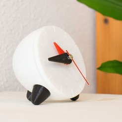 Free 3D printer file Functional Desktop/Bedside Clock, TonyLarsson