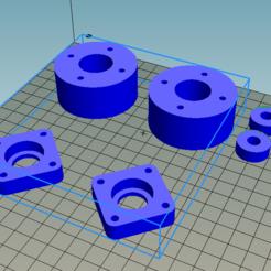 Free 3D printer designs Touret door, Dsix06