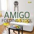 Modelos 3D para imprimir gratis AMIGO, taburete plegable de bricolaje!, NerioBaus