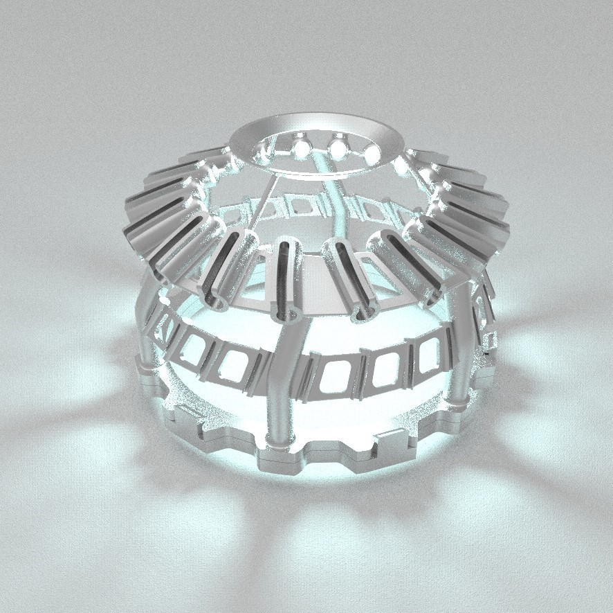 untitled456.10.jpg Download free STL file MOULINETTE lighting inspired by a turbine / lighting inspired by a turbine • Object to 3D print, NerioBaus