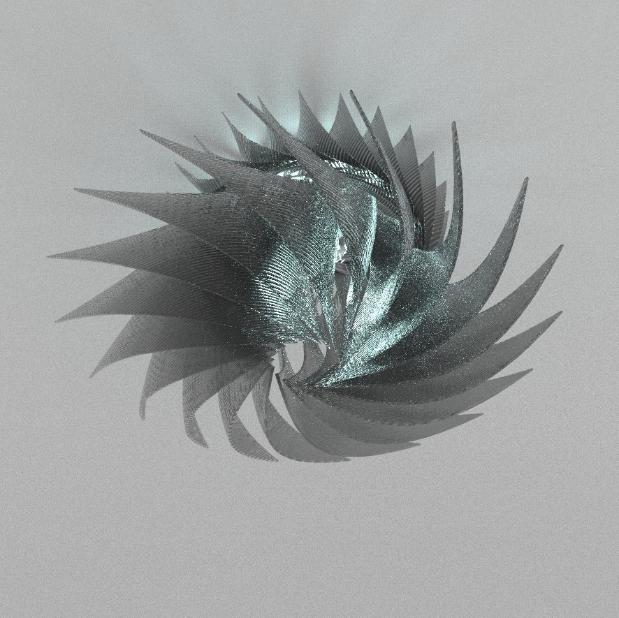 untitled456.8.jpg Download free STL file MOULINETTE lighting inspired by a turbine / lighting inspired by a turbine • Object to 3D print, NerioBaus