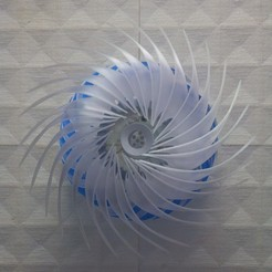 Free // THE Moulinette // Luminaine, chandelier, lamp, Lighting 3D printer file, NerioBaus