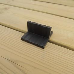 Descargar archivos STL gratis Terraza cubierta de madera espaciador, Rigs