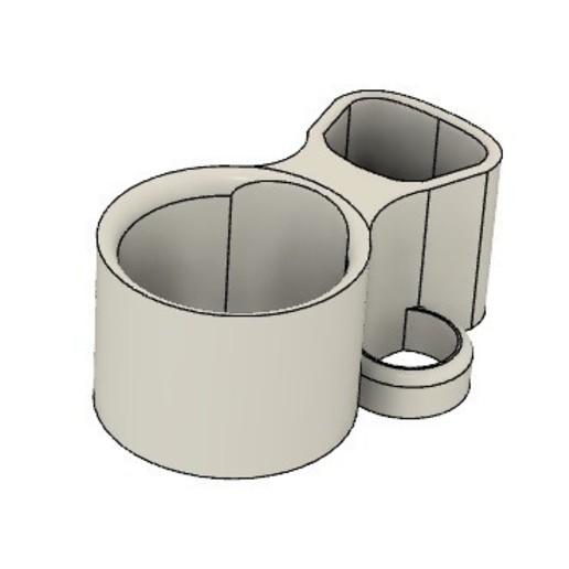 Descargar modelo 3D gratis apoyo para apuntar el MI6 para el bastón DEUS, yann2964