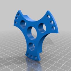 Download free 3D printing templates filament spool hub 0.10$ support bobine eco, Pachypodium