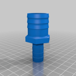 Download free 3D printing models Garden Hose Adapter 25/14mm, Pachypodium