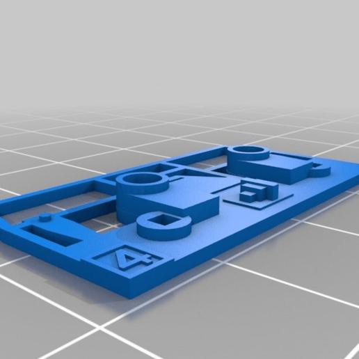 Download free 3D printing templates train, Pachypodium