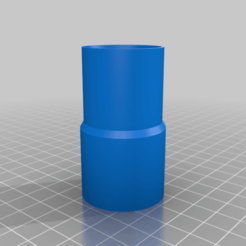 Download free 3D printing files reducer fitting pvc pipe 28mm 31mm, Pachypodium