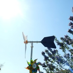 P1210304.JPG Download free STL file low cost wind turbine (derive and its support) • 3D printable object, Pachypodium