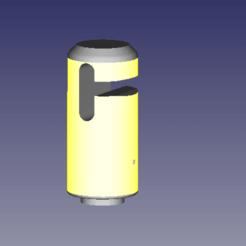 Capture d'écran_2020-04-08_22-35-48.png Download free STL file trampoline net cap • 3D printing model, Pachypodium