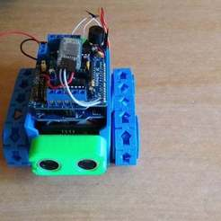 Download free 3D printing designs SMARS - Chassis 86 mm, Williamcriz